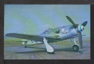 Focke-Wulf FW 190-D-9 Postcard