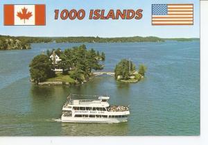 Postal 031875 : 1000 island. Ontario Canada - New York U.S.A.