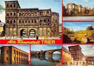Alte Roemerstadt Trier, Porta Nigra, Konstantin-Basilika, Moselbruecke