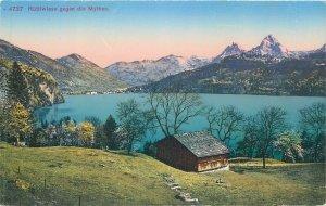 Switzerland Rutliwiese gegen die Mythen