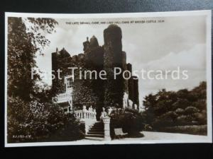 Isle of Man GREEBA CASTLE The Late Sir Hall Caine & Lady Hall Caine c1930's RP