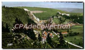Old Postcard Pontarlier Defile De La Cluse