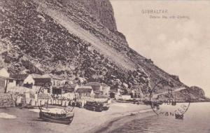 Catalan Bay with Clothing, Gibraltar, PU-00-10s