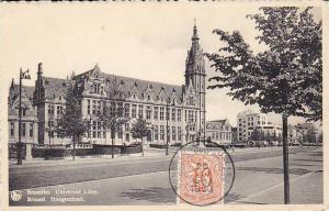 Belgium Brussels Universite libre 1953