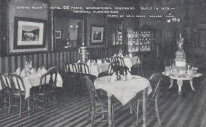 Colorado Georgetown Dining Room Hotel De Paris Artvue