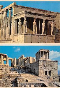 Greece Athens Acropolis The Caryatides Atene Acropoli Le Cariatidi