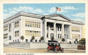 H78/ Globe Arizona Postcard c1910 Globe High School Building  85