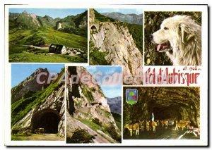 Postcard Modern Memorial Col d'Aubisque