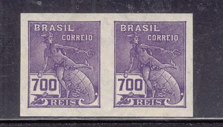 Brazil  #339 MNH Imperforate Pair