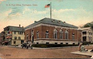 Connecticut Torrington Post Office 1915