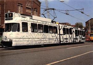 Kunsttram Pop-Art Tram, Ontwerp Hans Pruyssers