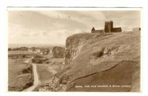 RP; Uphill , edge of Weston-super-Mare , North Somerset, England. The Old Chu...