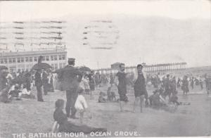 OCEAN GROVE, New Jersey, PU-1921; The Bathing Hour