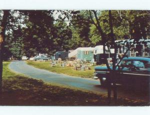 Pre-1980 TRAILERS AT SELKIRK SHORE PARK Pulaski In Richland By Syracuse NY c8587