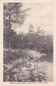 New Hampshire Deephaven Bight And Camp Fire Rock Albertype
