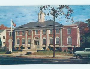 Pre-1980 CITY HALL SCENE Southington Connecticut CT AF1919