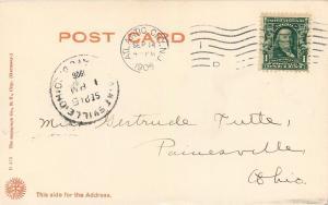 Atlantic City New Jersey~The Marborough Blenheim~Black & White 1906 Postcard