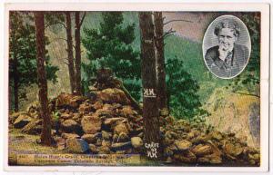 Helen Hunt's Grave, Cheyenne Mt. Colorado Springs Colo
