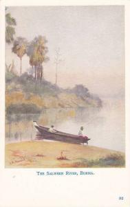 Boat , The Salween River , Burma , 00-10s