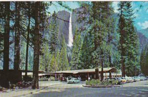 California Yosemite National Park Entrance To Yosemite Lodge & Upper Yosemite...