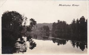 RP:  MUSKOKA River , Ontario , Canada , 1920-30s