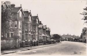Summerheath Road Hailsham Sussex Real Photo Old Postcard