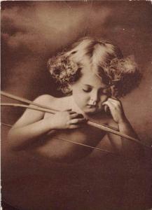Cupid Asleep with Bow and Arrow