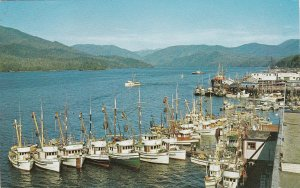 Canada British Columbia Priince Rupert Waterfront 1972 sk4869