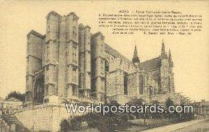 Eglise Collegale Sainte Wadru Mons, Belgium Unused