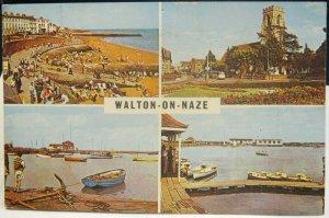 England Walton-on-Naze Promenade Parish Church Breakwaters etc - posted 1964