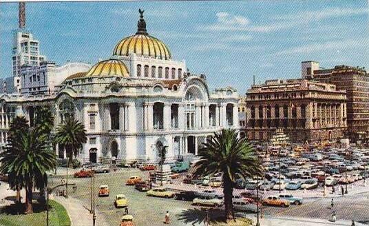 Mexico Palacio De Bellas Artes Mexico City