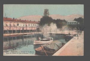081407 FRANCE Toulon Arsenal de la Marine Quay de l'Heure old