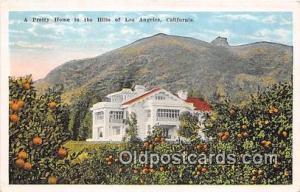 Los Angeles, CA, USA Pretty Home in the Hills