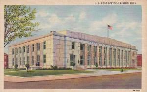 U S Post Office Lansing Michigan 1949