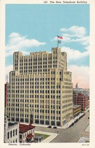 DENVER , Colorado, 1910-30s , The New Telephone Building