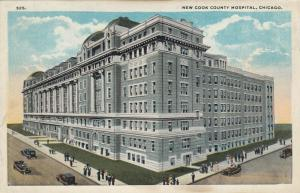 CHICAGO , Illinois, 1900-10s ; New Cook County Hospital