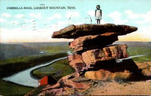 Tennessee Chattanooga Lookout Mountain Umbrella Rock 1909
