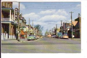 King Street, Sturgeon Falls Ontario, Used 1953
