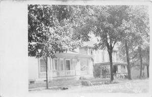 E95/ Smithfield Ohio RPPC Postcard Jefferson Co c1910 Homes Street 9