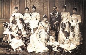 Royal Wedding 1893 of the Duke of York, Princess Mary of Teck, Nostalgia Reprint