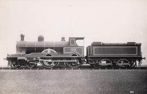 LNWR Railway Class 4-4-0 No 1942 King Edward VII Train Photo