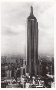 RP: NEW YORK CITY , 1930s ; Empire State Building #3
