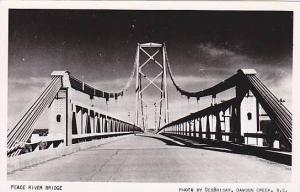 RP; Peace River Bridge , B.C. , Canada , 30-40s