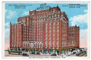 Minneapolis, Minn, The New Nicollet Hotel