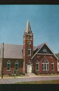 Trinity Methodist Church Harrington Delaware Vintage Chrome Post Card