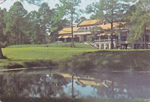 Club house at Harbor Town , Hilton Head Island , South Carolina , PU-1983