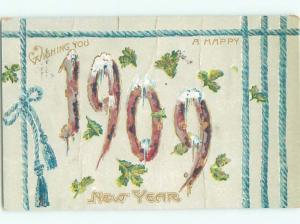 Pre-Linen New Year BIG NUMBERS AB2463