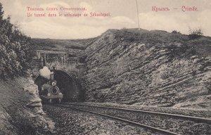 Un Tunnel dans le voisinage de SEBESTOPOL , Crimee , Russia , 00-10s Railroad...