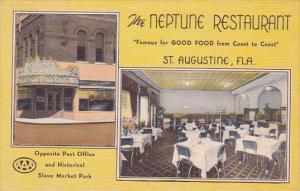 Florida St Augustine Interior Neptune Restaurant