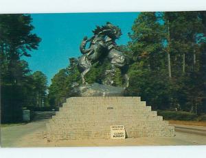 Unused Pre-1980 HORSE STATUE AT BROOKGREEN GARDENS Myrtle Beach SC r9971